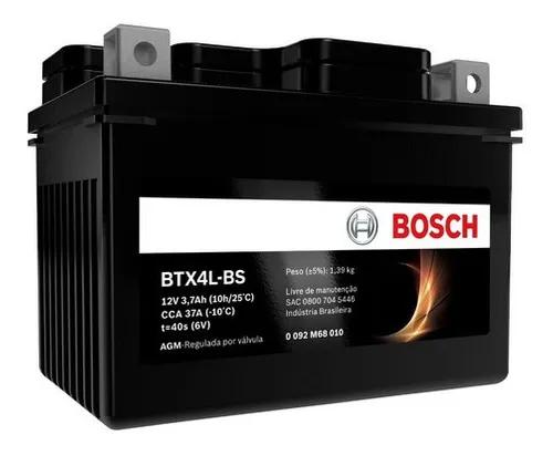 BATERIA DE MOTO BOSCH BTX4L-BS 12V