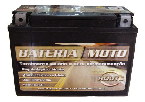 Bateria Moto Route Xtz9b-bs 8ah 12v Yamaha Yzf-r7 Xt 660 (YT9B-BS)