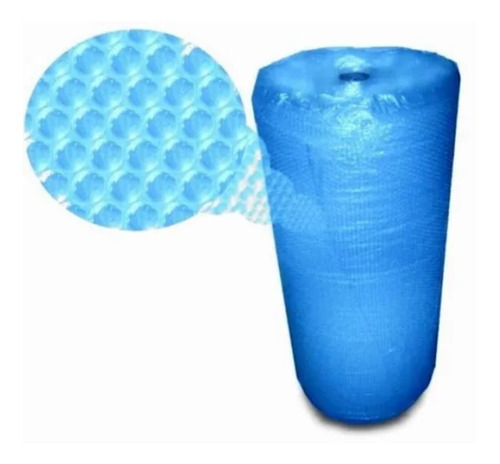 Bobina Rolo Plástico Bolha 1,20 X 100 Metros 45 Micras