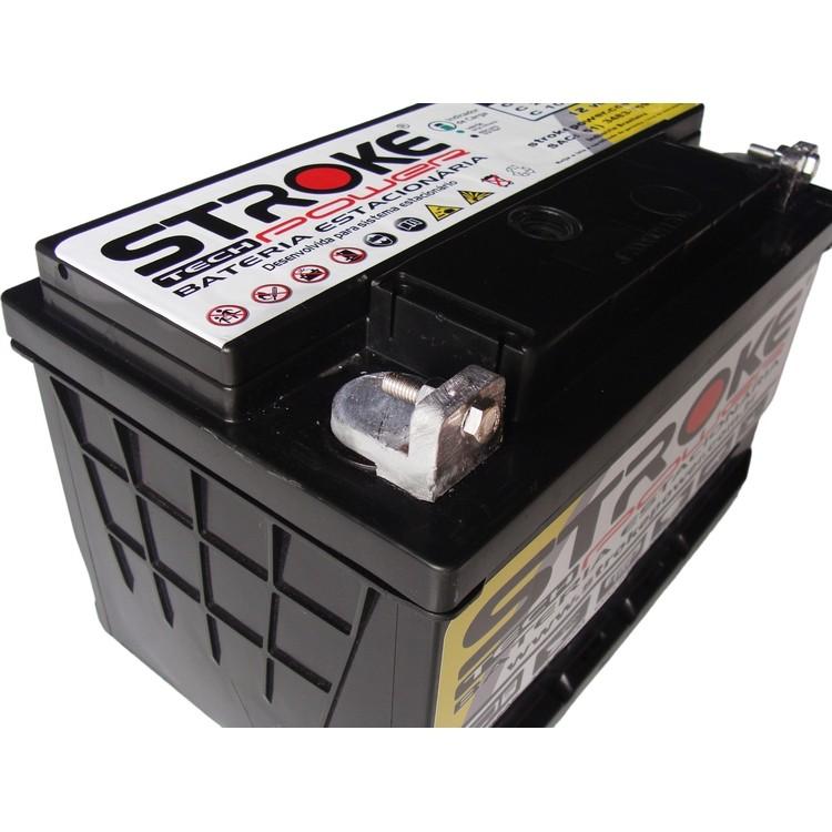Kit 2 Bateria Estacionária 45ah Energia Solar Nobreak Alarme
