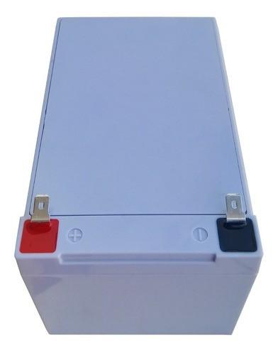 Kit 3 Bateria Eco Power 12v 16ah 6-dzm-12 Para Bike Elétrica Patinete Eletrico E CARREGADOR INTELIGENTE 36v 2ah
