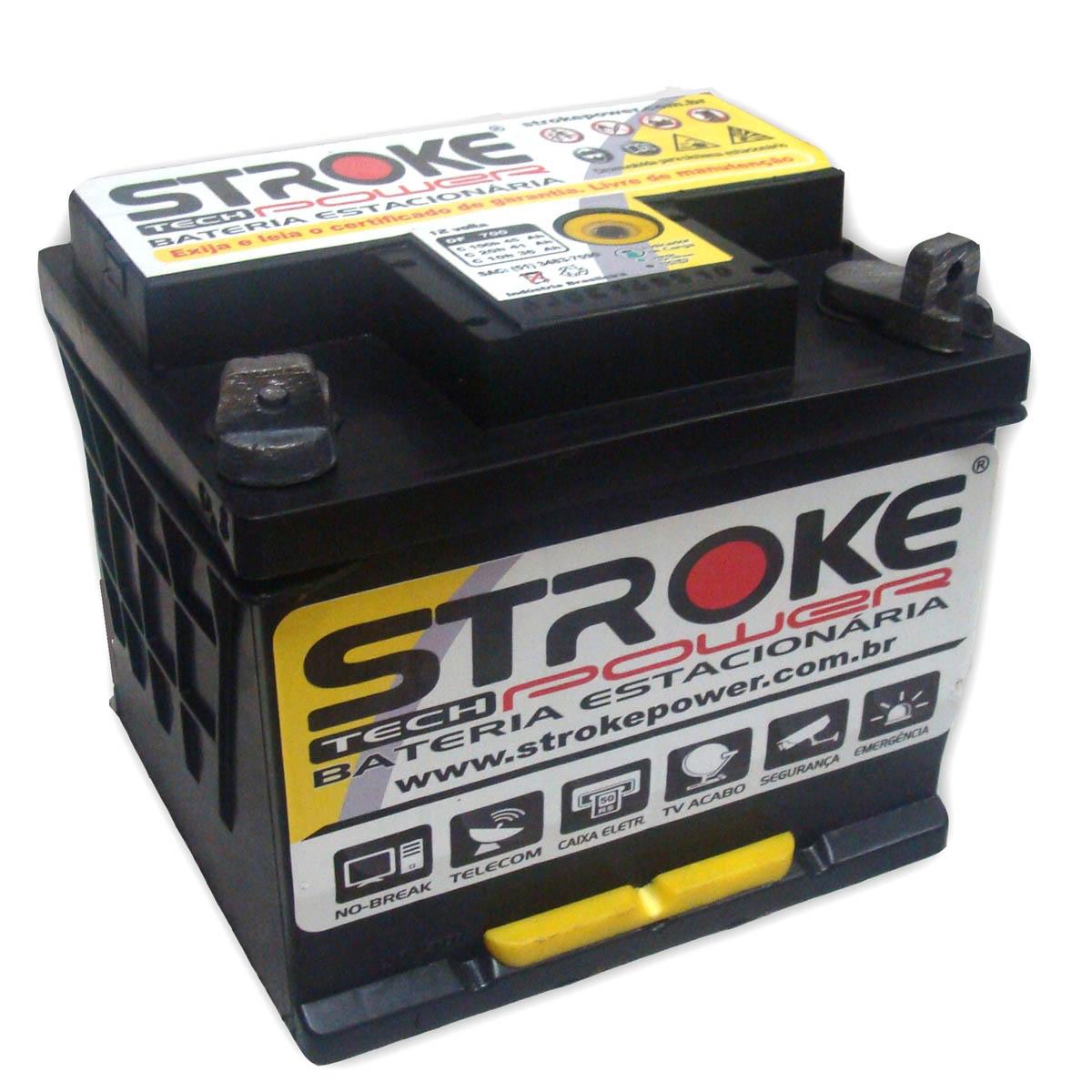 Kit 4 Bateria Estacionária 45ah Energia Solar Nobreak Alarme