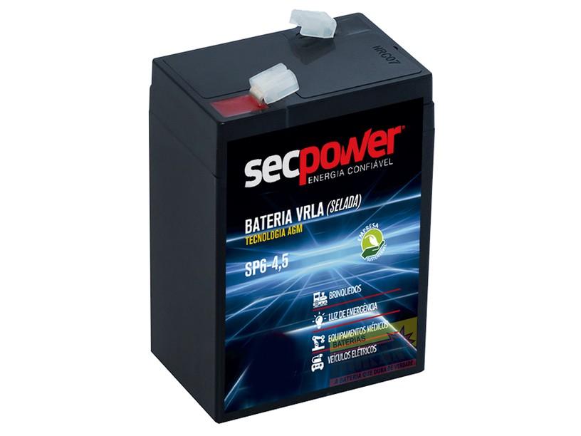 Kit Carregador 6v + Bateria De Gel 6v 4,5ah Brinquedo Alarme