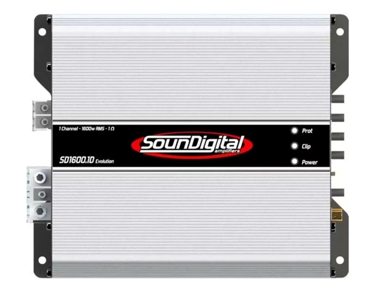Módulo Amplificador Soundigital 1600w 1 OHM 1 Canal