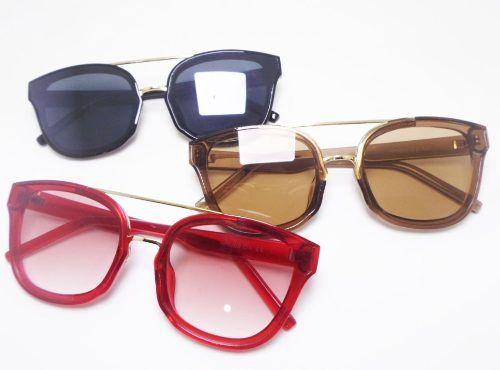 Oculos De Sol Blaze Spr 09 Gatinho Transparente Red Black