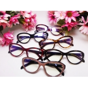 Armação De Oculos De Grau Feminino Gatinho Retro Vintage Doris 048