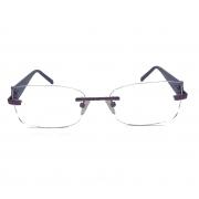Armação de Óculos de grau flutuante Parafusada Titânio Rose Optic Balgriff