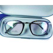 Armação De Óculos Quadrado 7141 Tr90 Usee411 Clubmaster