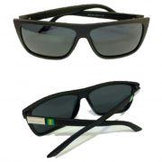 Oculos de Sol Quadrado Polarizad Garnet Fume Sport Italy G1124