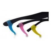 Segura Óculos ponteira em silicone para hastes para segurar oculos Trava oculos