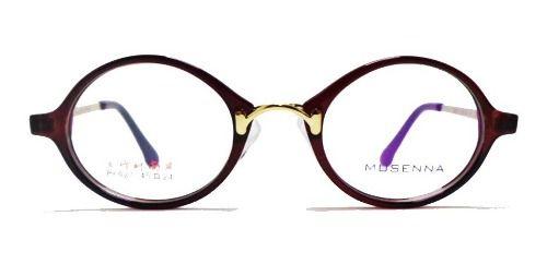 Armação De Óculos De Grau Redondo Retro Vintage Redondinho