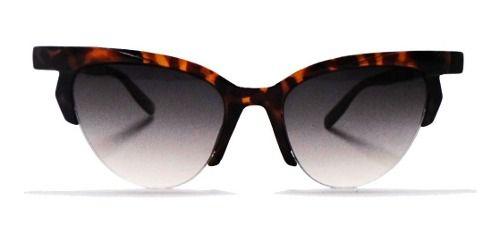 Oculos De Sol Retro Gatinho Oncinha Tartaruga Anne Fashion