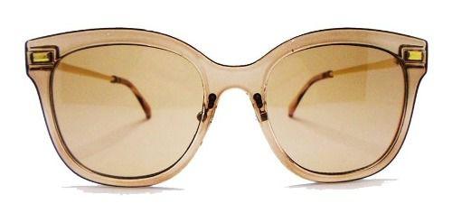 Óculos De Sol Transparente Jaqueline Chic Style Fashion Cores