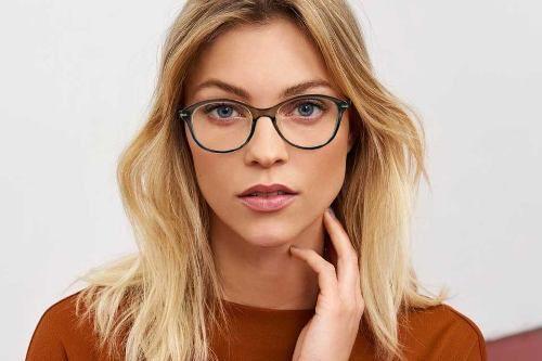 Armação De Oculos Carolina Redondo Oncinha 53096 Transparente