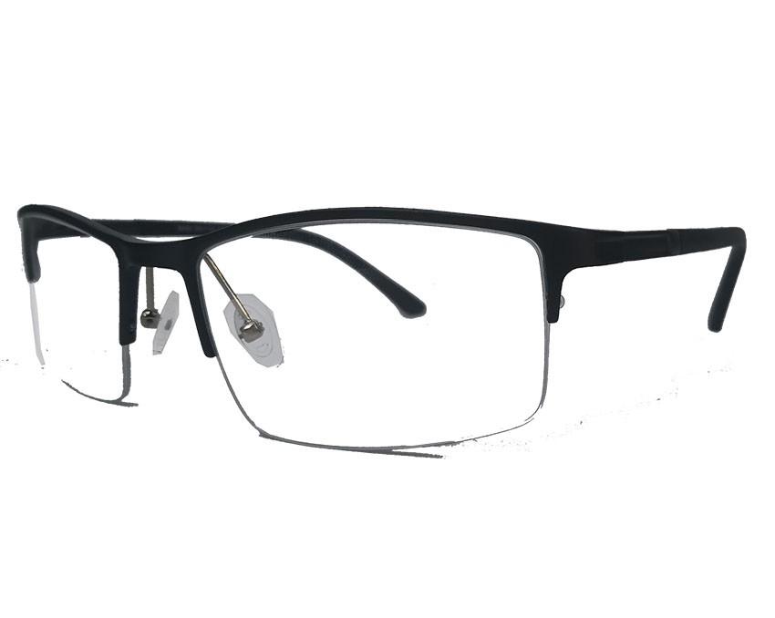 Armação De Oculos De Grau Alumínio Esportivo Mens Sport 844
