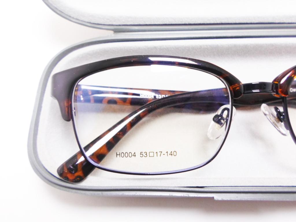 Armação De Oculos De Grau Clubmaster Oncinha Tartaruga Retro
