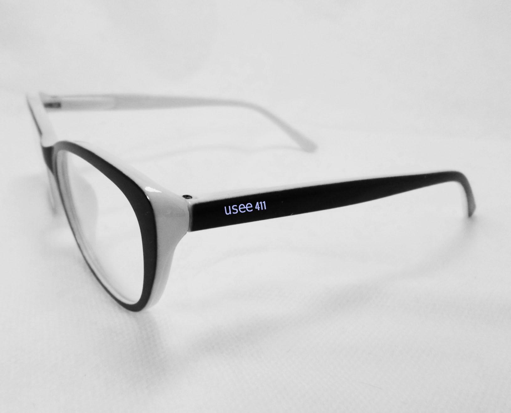 Armação de oculos de grau feminino Gatinho Brown 50690