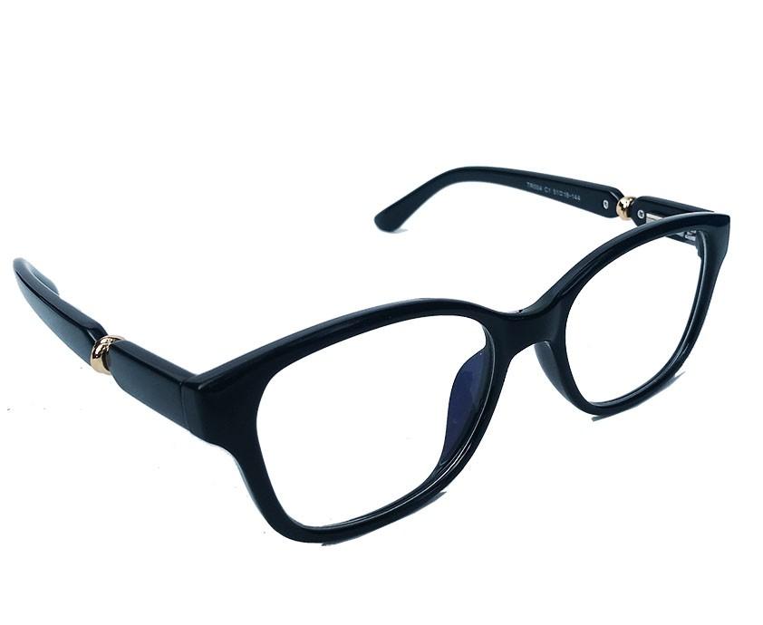 Armação De Óculos de grau Feminino Retangular Black Monique Charme
