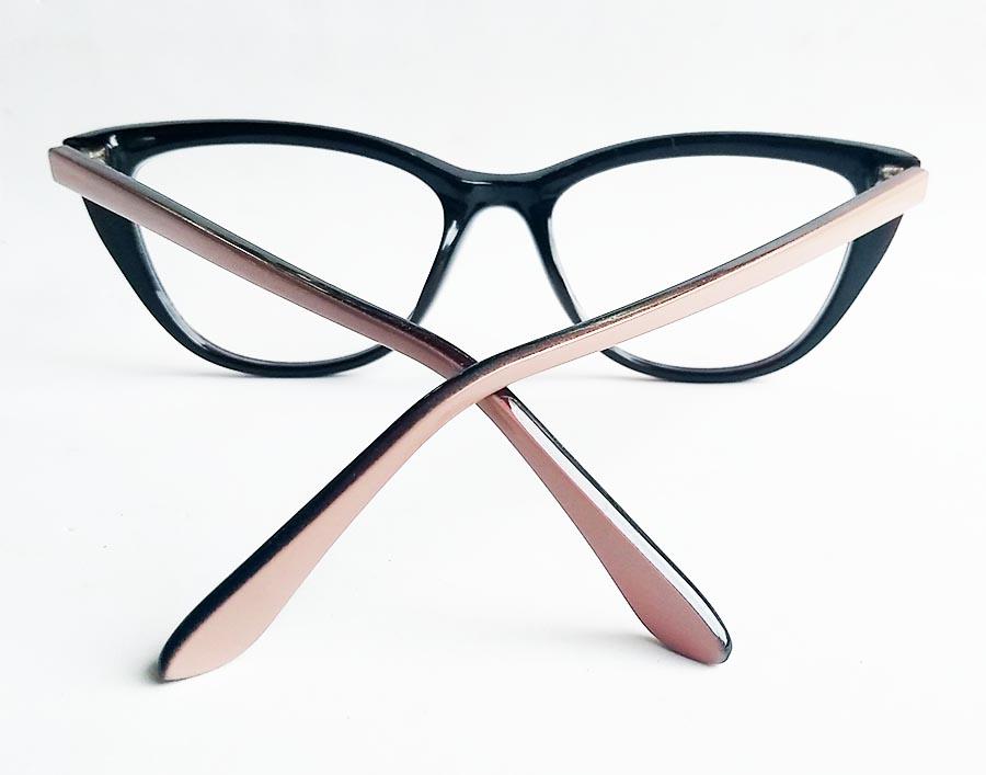 Armação De Óculos De Grau Gatinho Nude Skin Nataly