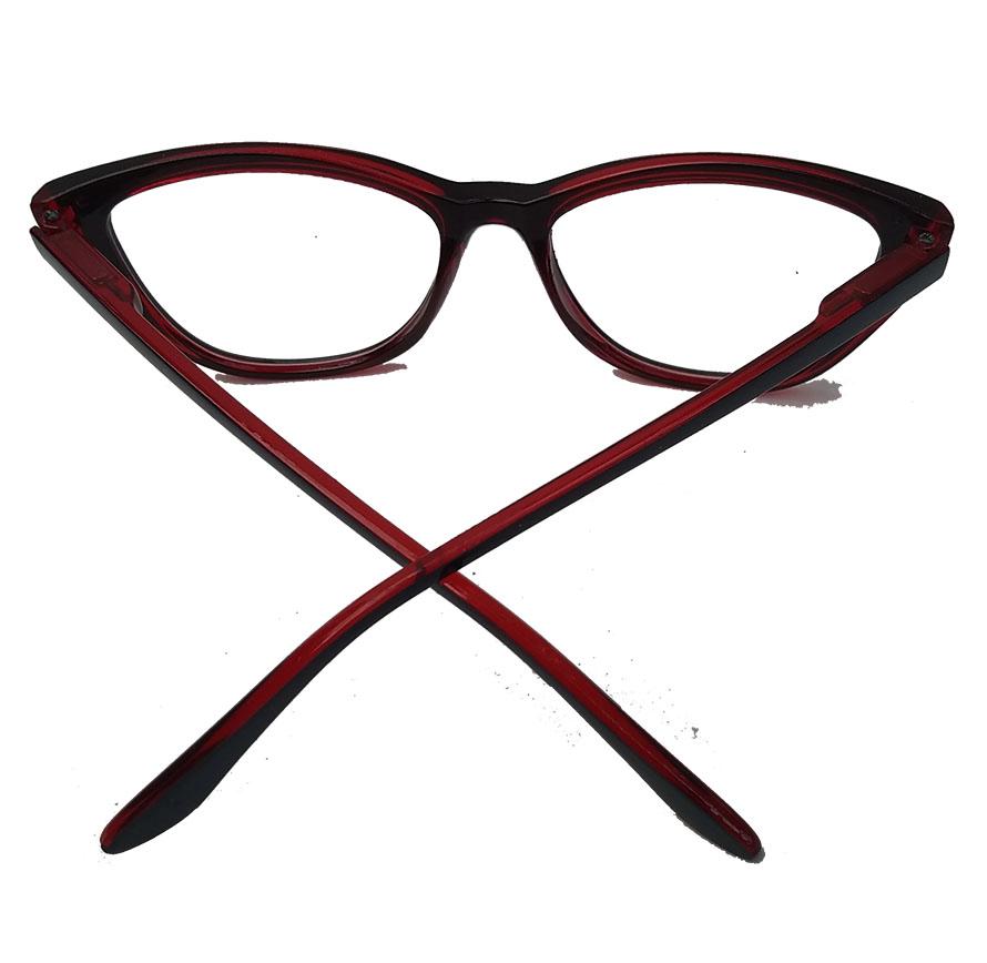 Armação De Óculos De Grau Gatinho Varnish Retro Ruby 1261 Merilyn
