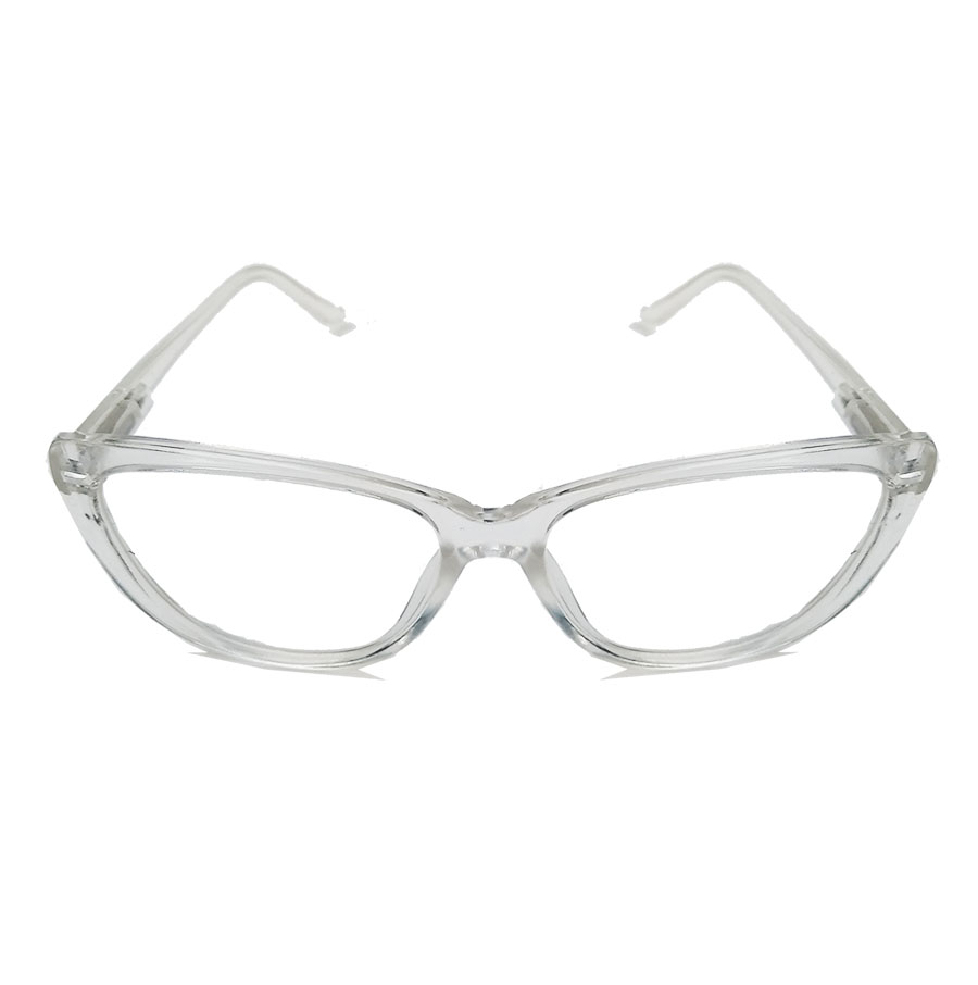 Armação De Óculos De Grau Gatinho Varnish Retro Transparente 1261 Cristal