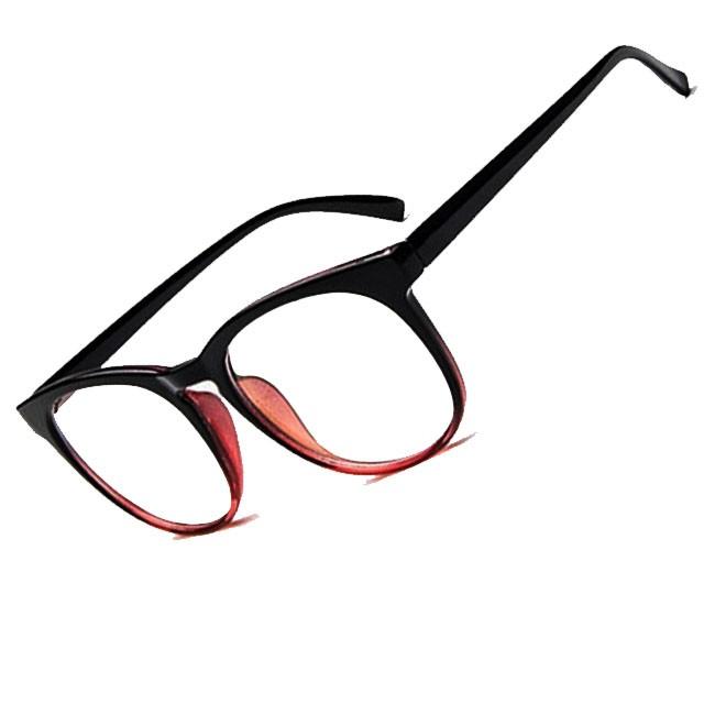 Armação de oculos de grau Grande Redondo Borboleta Degrade Maristela