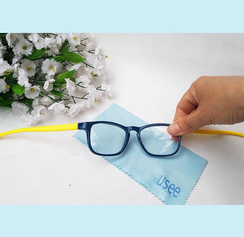 Armação de Óculos De Grau Infantil Inquebrável Silicone Leve Flexível Resistente Menino e Menina
