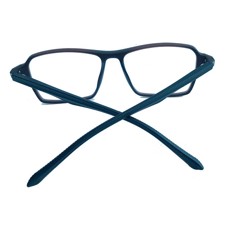 Armação de óculos de grau Masculino SQUARE Georges URB 2169 Brown