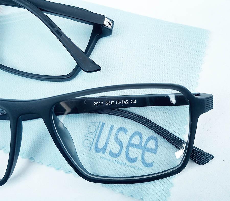 Armação de óculos de grau Masculino SQUARE Georges URB 2169 Matte