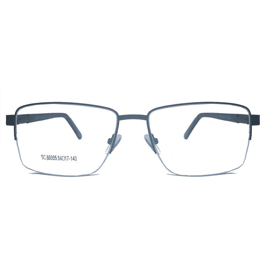 Armação de oculos de grau Metal Fio de Nylon Discreta Confortável 628