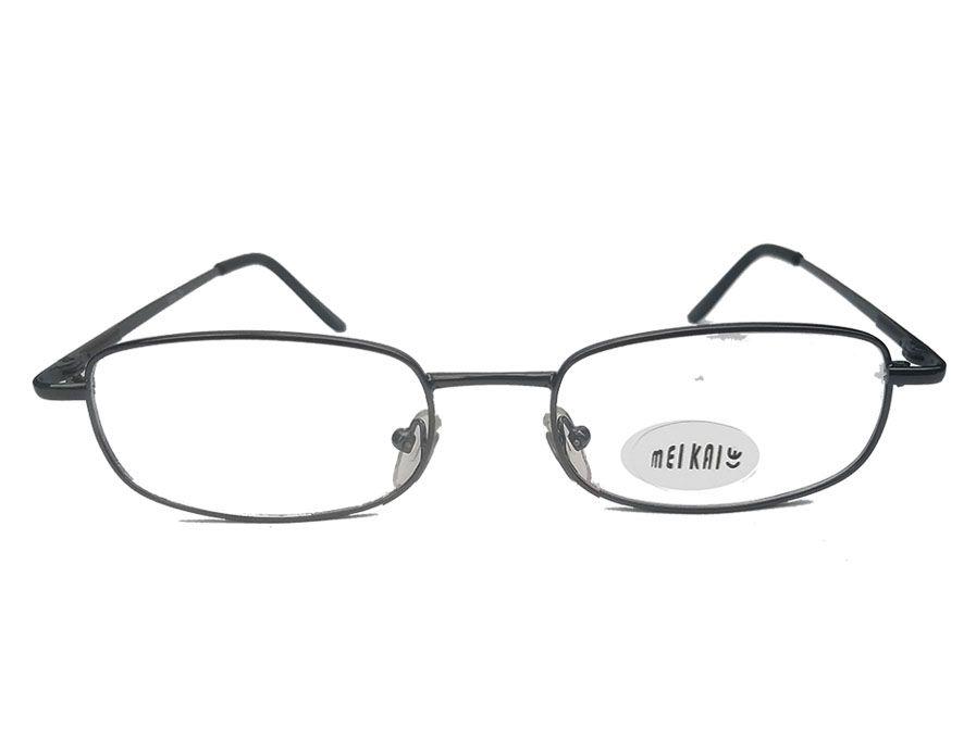 Armação de oculos de grau metal Square 3136 masculino confort