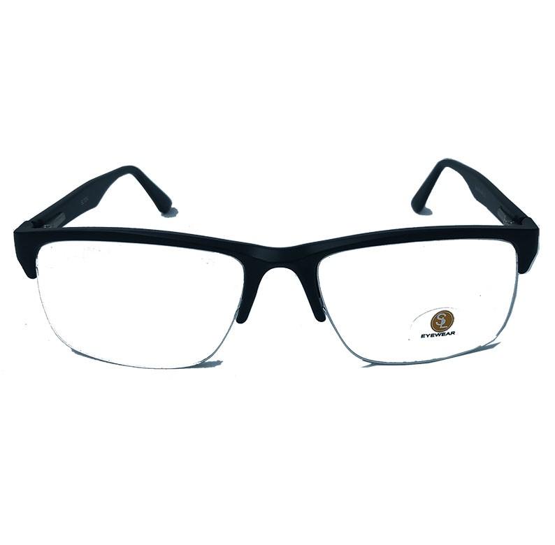 Armação De Óculos De Grau Nylon Masculino 7034 Sport Black Ferdinando