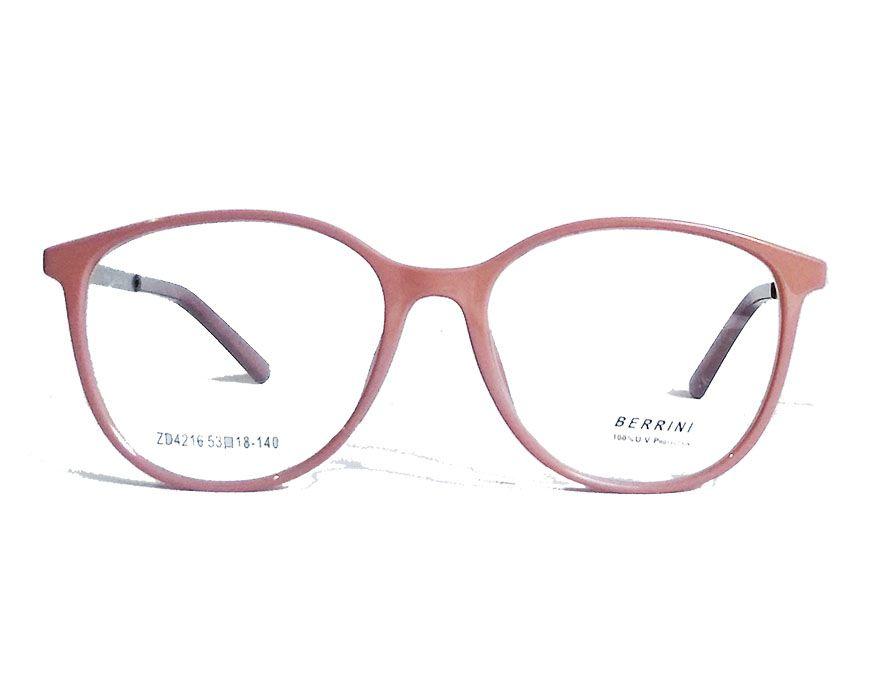 Armação De Óculos de Grau Redondo Love Nude 4216 Melissa