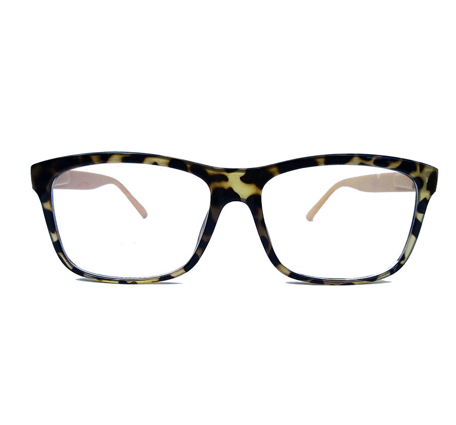 Armação De Óculos De Grau Retangular Varnish Oncinha Nude 1261