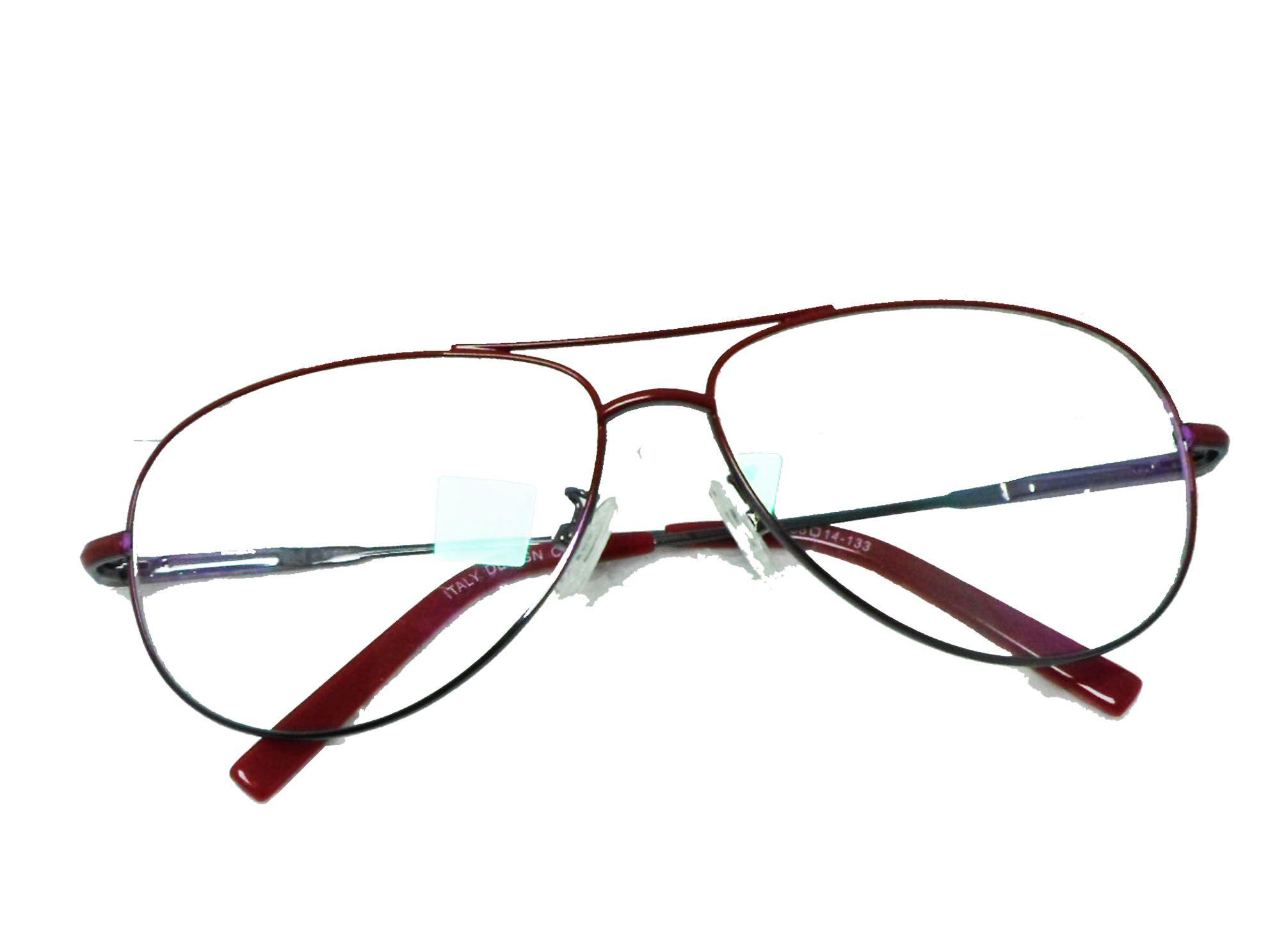 Armação De Oculos Grau Aviador 6049 Leve e confortável, cores diverasas
