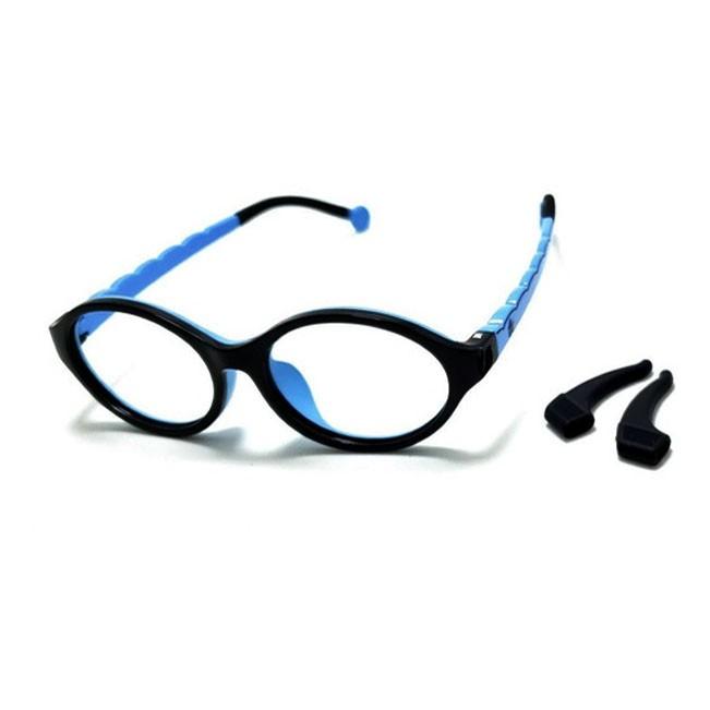 Armação De Óculos Infantil Oval Silicone Inquebrável anti queda Soft kids