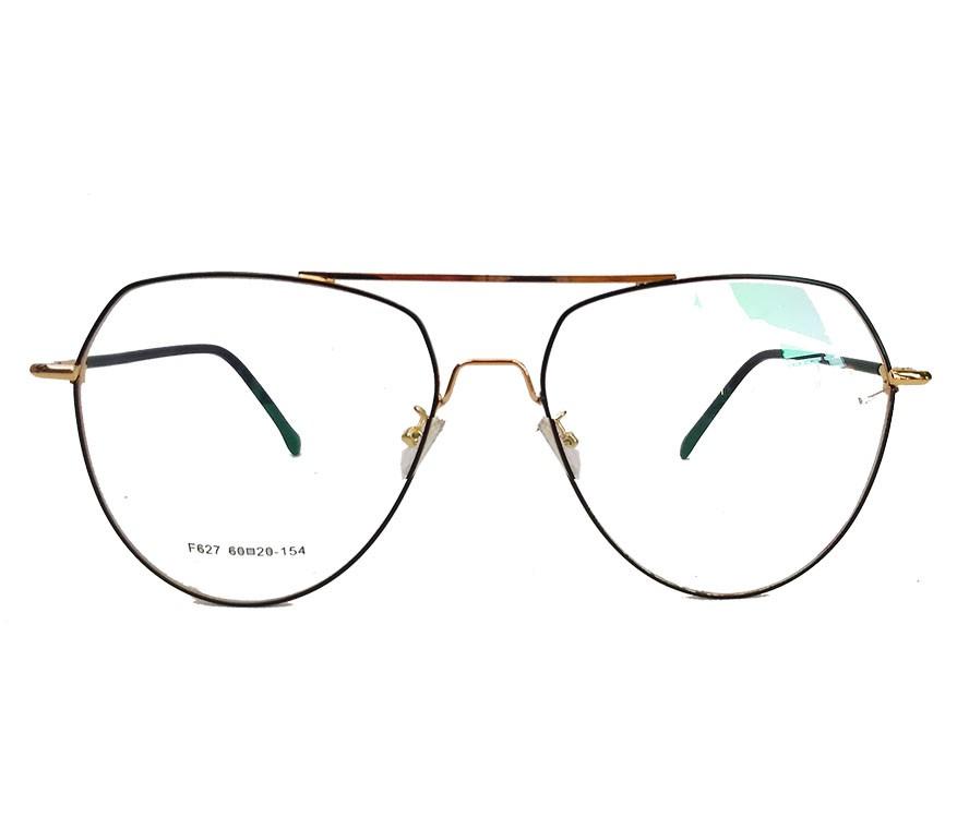 Armação de oculos para grau Aviador Big Grande Metal khloe
