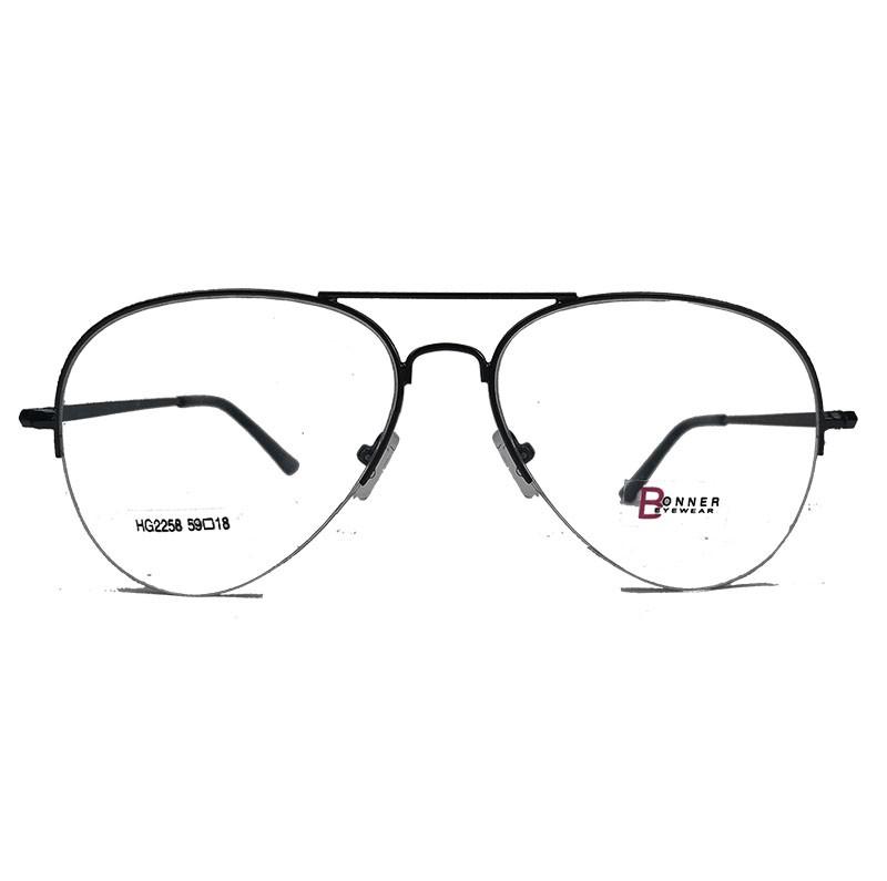 Armação de óculos para grau Aviator Meio aro 2258 ATlatis