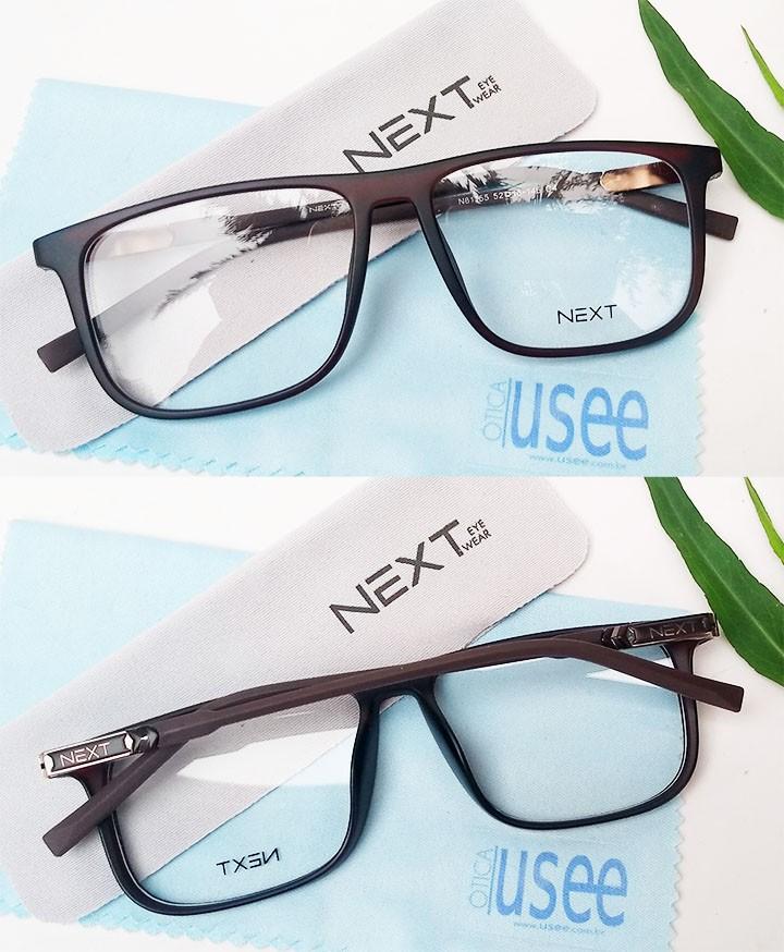 Armação de óculos para grau Next N81155 Quadrado Brown
