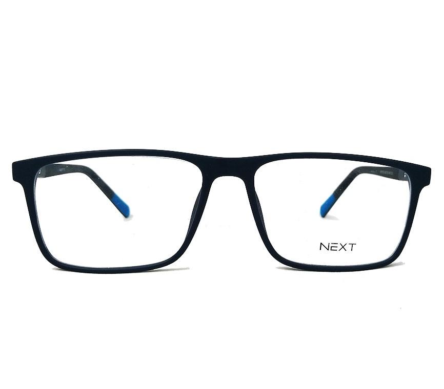 Armação de óculos para grau Next N81156 Quadrado Masculino Tires Blu New