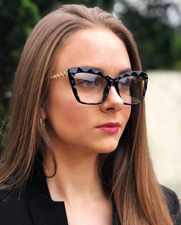 Armação de óculos para grau Next N81251 Feminino  Lapidado 3D Mosaico Gatinho