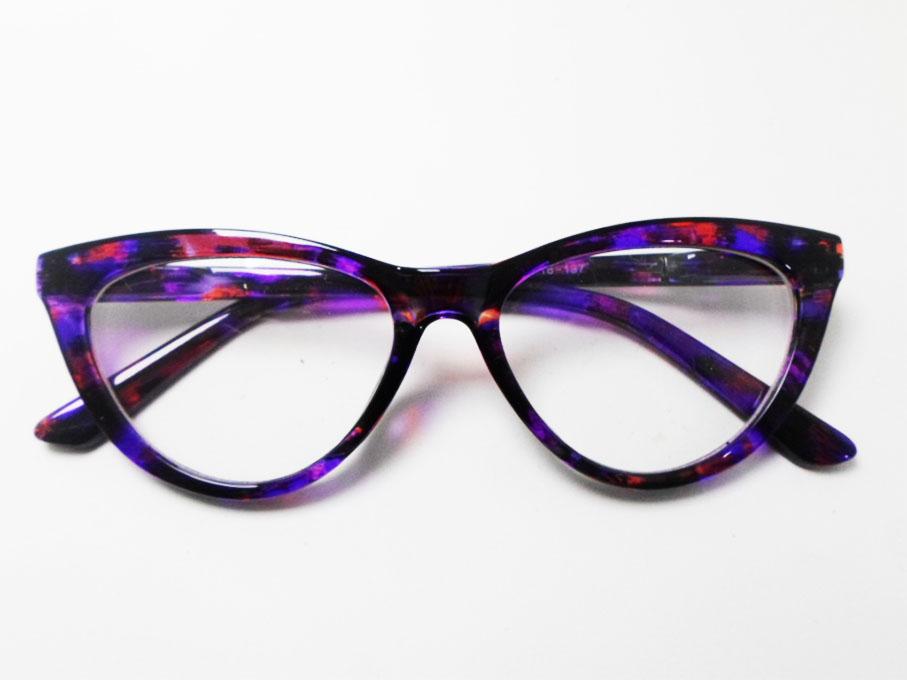 Armação De Óculos Para Grau Retro Gatinho Merilyn Nude e cores variadas