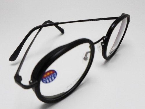 Armação De Oculos Shades Redondo Black 5533 Aisha Tr90