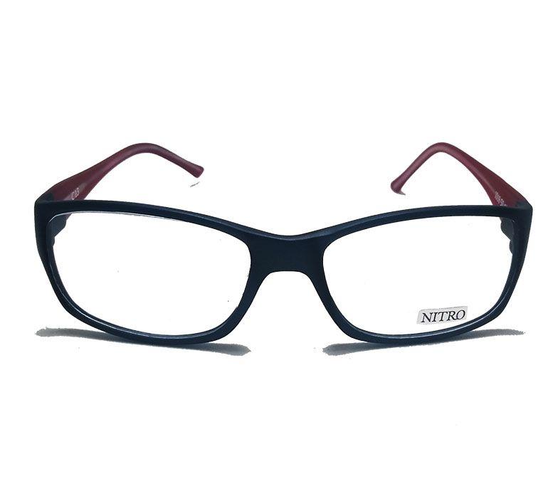 Armação Óculos De Grau Nitro Polytec Mascara Quadrado Masculino