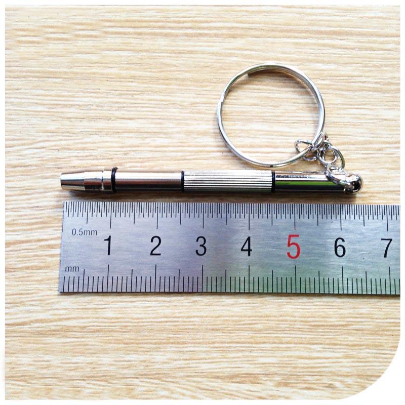 Chaveiro Mini Chaves Precisão para Oculos relógio celular Fenda Phillips Allen Hexagonal Jogo 4x1