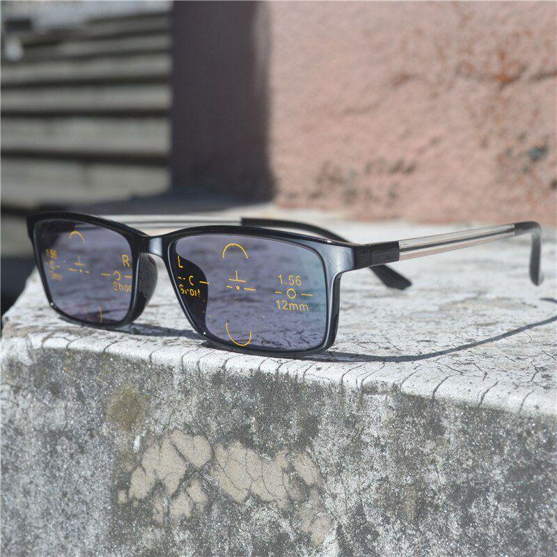 Lentes Multifocais Fotocromática Fotossensível Com Grau E Sol