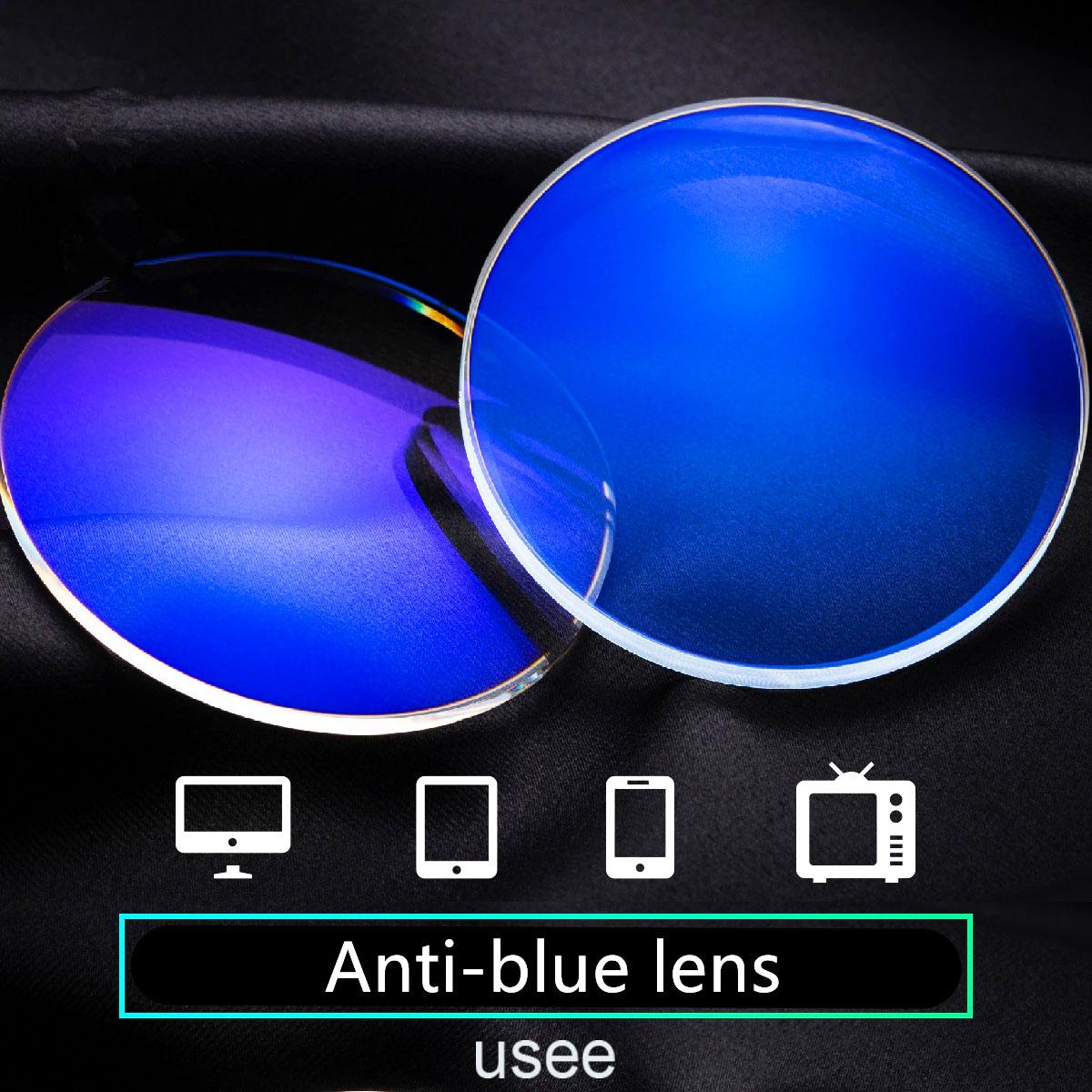 Lentes para Óculos em Policarbonato HMC SVision CR 1.61 Blue Cut Protection Digitais Alta Miopia