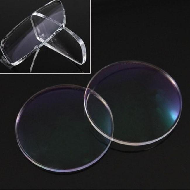 Lentes para óculos esférica Grau alta Miopia c/ antirreflexo até -8 CR1.56