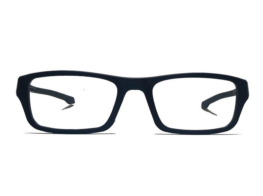 Oculos De Grau Masculino 3027 Retangular Confort Anatômic Sport