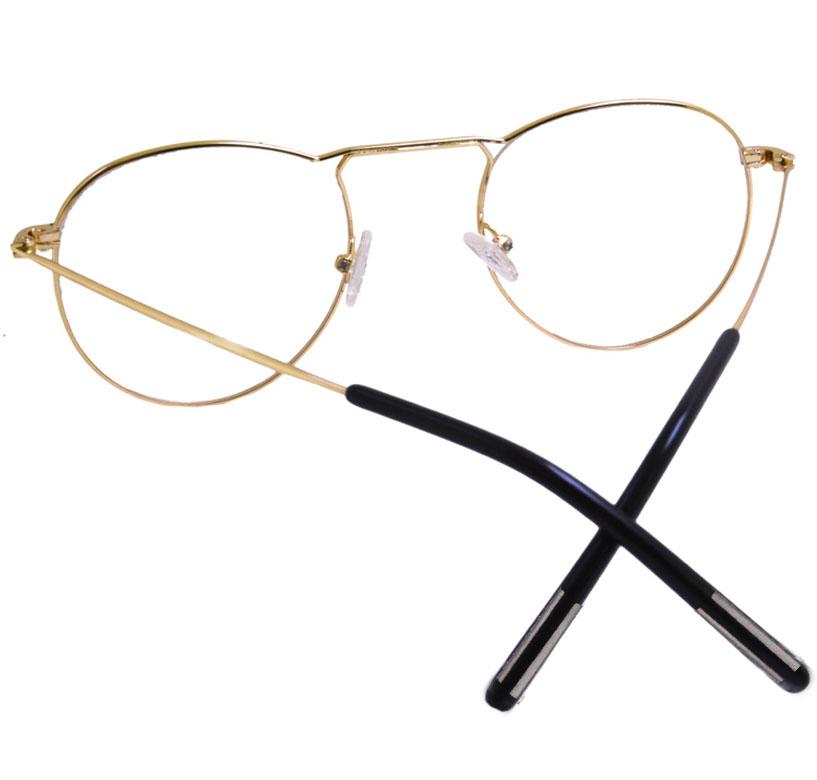 Oculos De Grau Redondo 5519 80103 Aviador Vintage Retro Style
